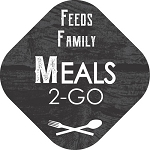 100144 Meals 2-Go Feeds Family Deli Sticker Roll (500 Labels Per Roll)