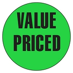10094 Value Priced Promotional Sticker Roll (1000 Labels Per Roll)