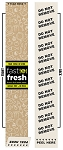 101200 Fast and Fresh Kraft Label Sleeve (250 per Roll)