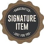 10706 Handcrafted Just For You Signature Item Deli Label Roll (500 per Roll)