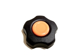 BS-17A Flower Shaped Knob with Screw Set for all Band Sealers (New Gen with Orange Dot)