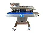 FRM-1120C Tilt Head Band Sealer with Dry Ink Coding for Sealing Liquids (Right to Left Feed)