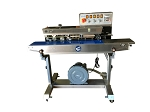 FRMC-980III Horizontal Right to Left Band Sealer with Dry Ink Imprinting and Vacuum