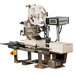 TACH-IT MINI-CON Automatic Wipe-On Label Applicator with Conveyor