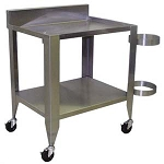 20391 Daniels S/S Brine Table for 5.5 gal. Injecting System