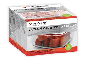 300-950 PolyScience Vacuum Canister