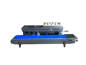 FRM-1010I Horizontal Right to Left Band Sealer with Dry Ink Coding