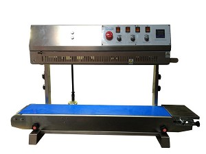 FRM-1010II Vertical Right to Left Band Sealer