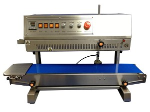 HL-M810II Vertical Band Sealer with Ink Imprinting (Left to Right Feed)